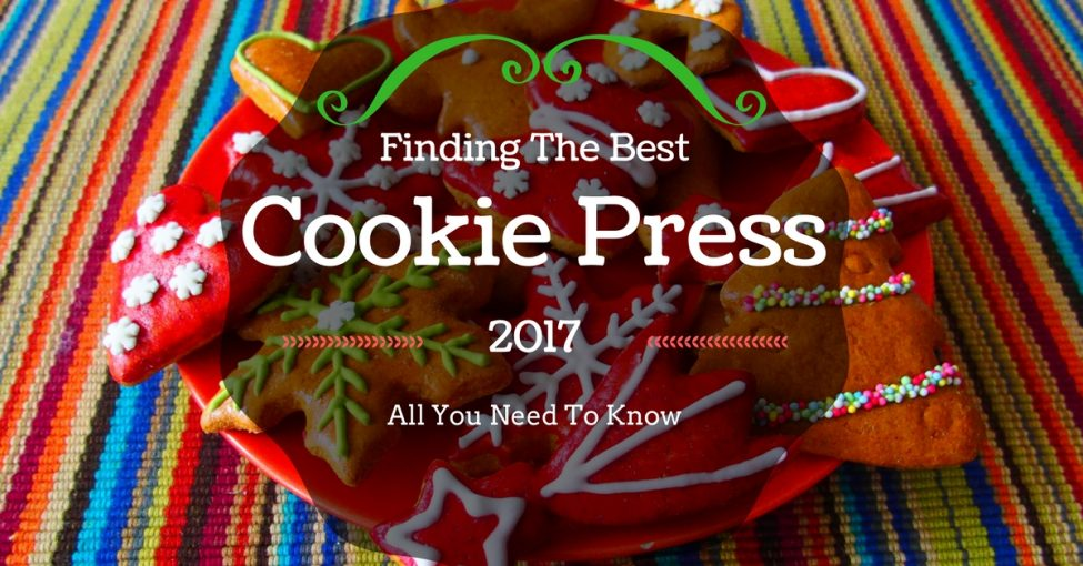 best cookie press