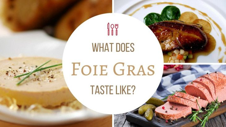 what does for foie gras taste like