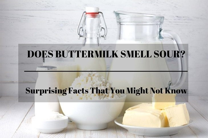 does buttermilk smell sour