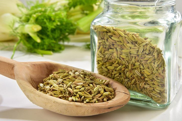 Fennel seed is widely used in recipe