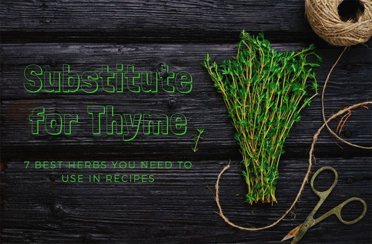 options for substitute for thyme