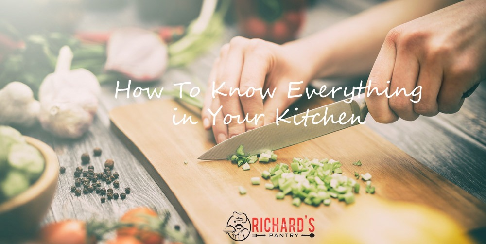 Everything you want to know in kitchen