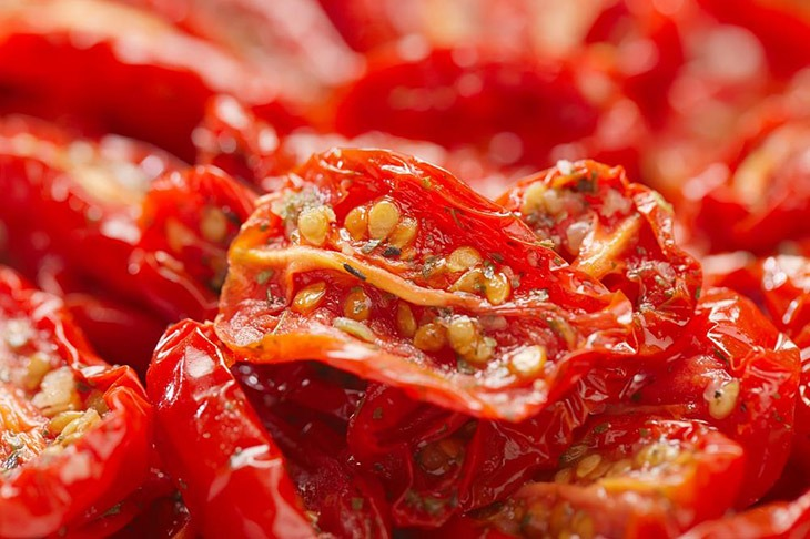 sun-dried tomatoes have special taste