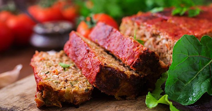 How to warm frozen meatloaf