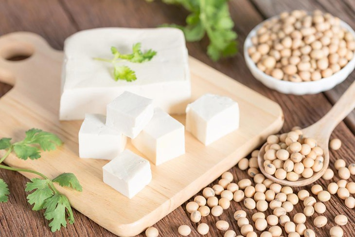tofu have a rich nutrition can replace mushroom