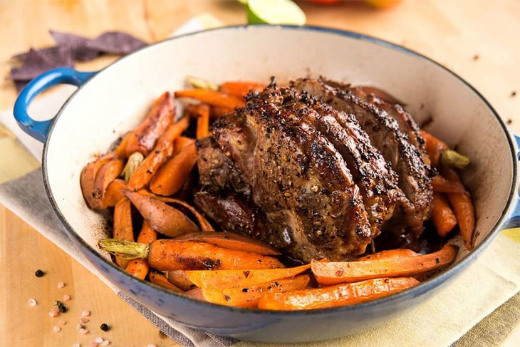 what meat goes with sweet potatoes