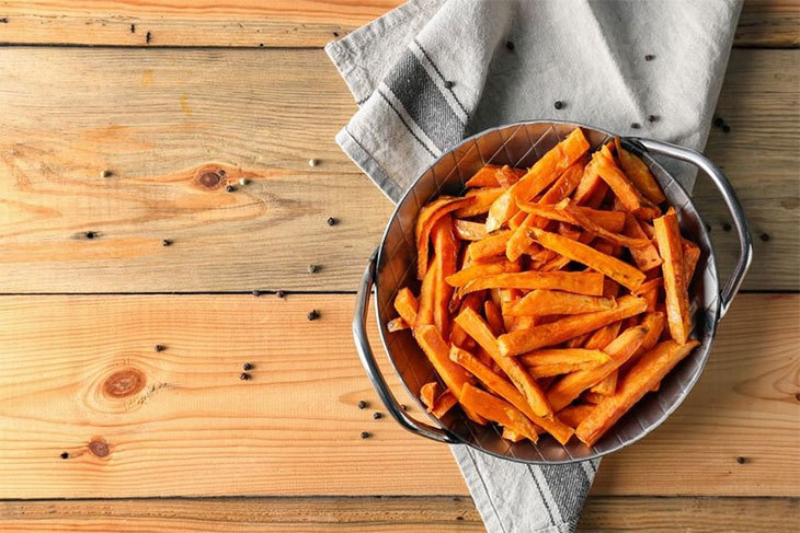 what goes with sweet potatoes
