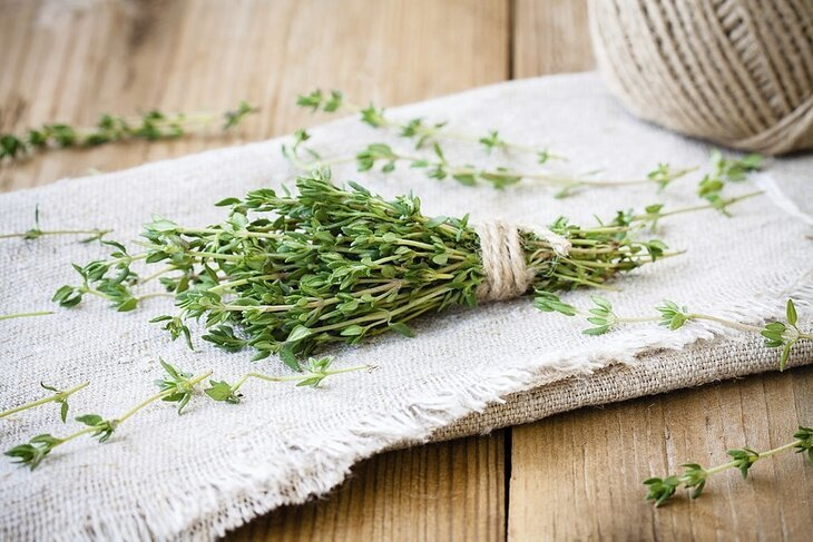 tips when using thyme in cooking