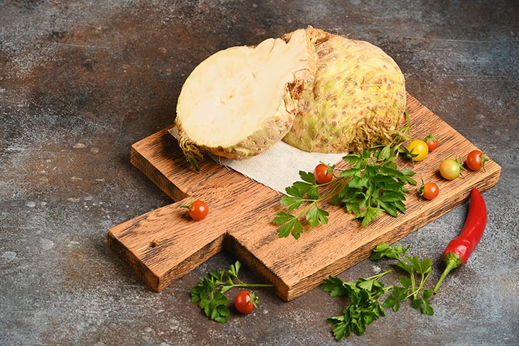 substitute for celery root