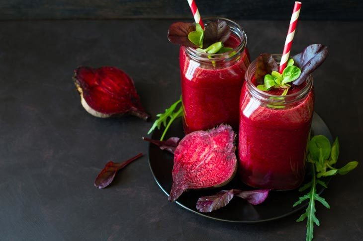 how to make beet leaves smoothie