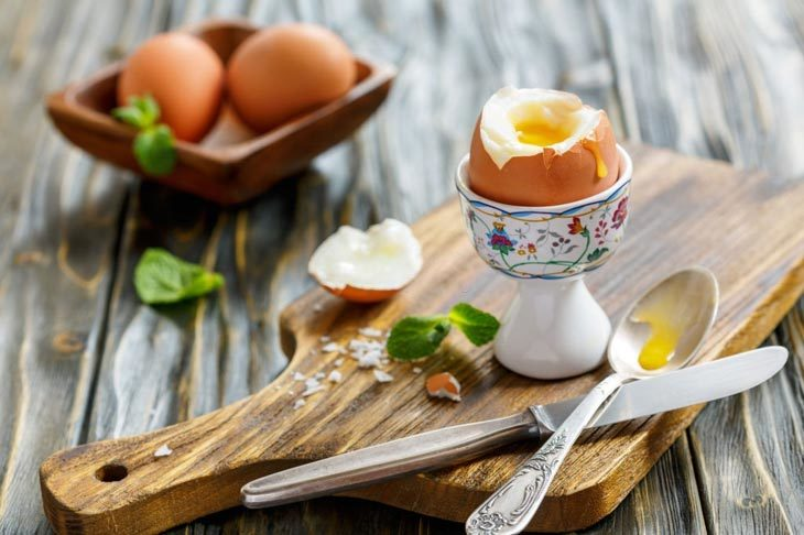 how to open a soft boiled egg