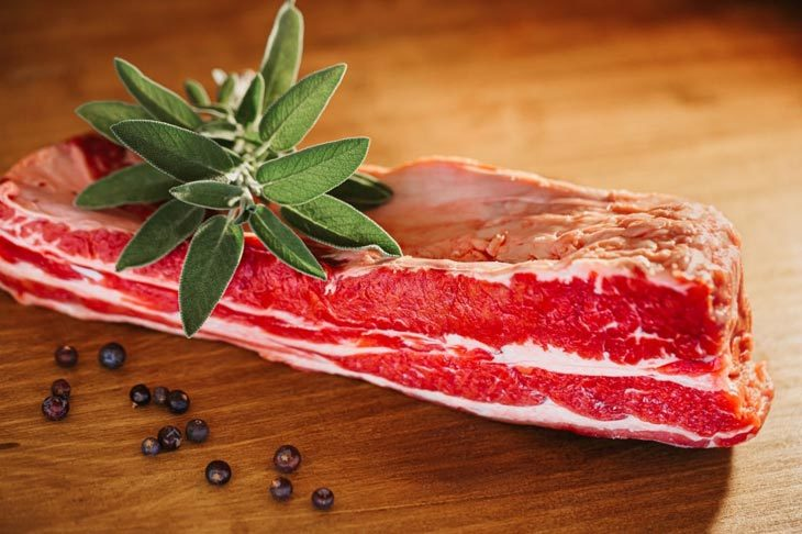 What are the methods to defrost prime rib