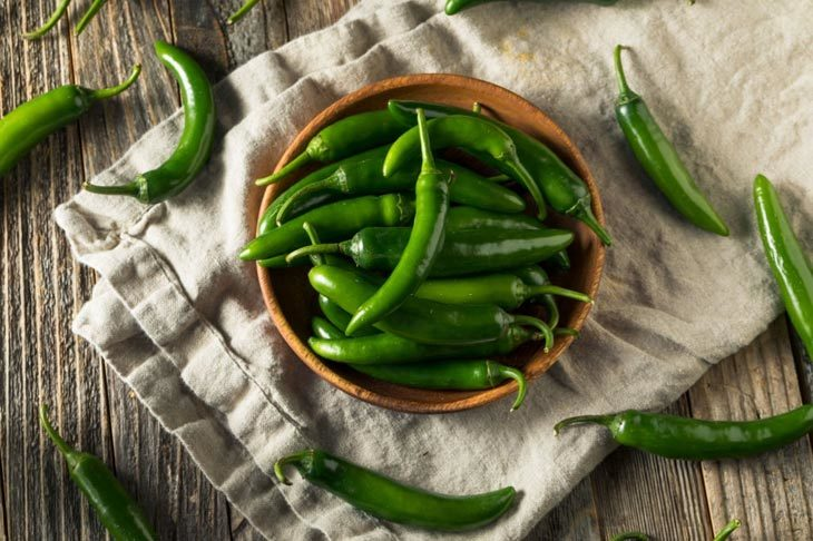 substitute for green chiles