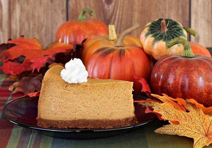 egg free pumpkin cheesecake
