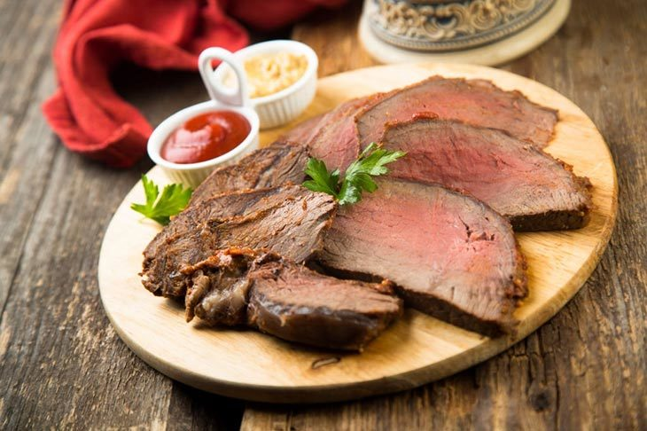 way to cook eye of round roast in convection oven