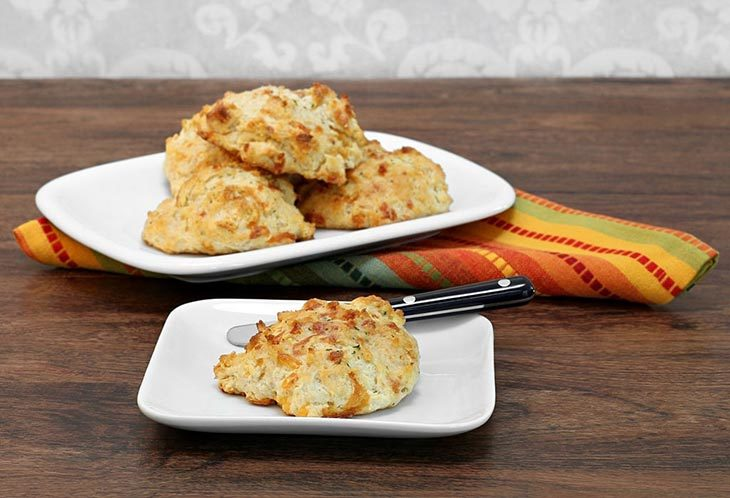 Garlic Cheddar Biscuits Ingredient