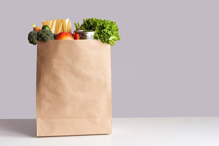 Place the squash in a paper bag