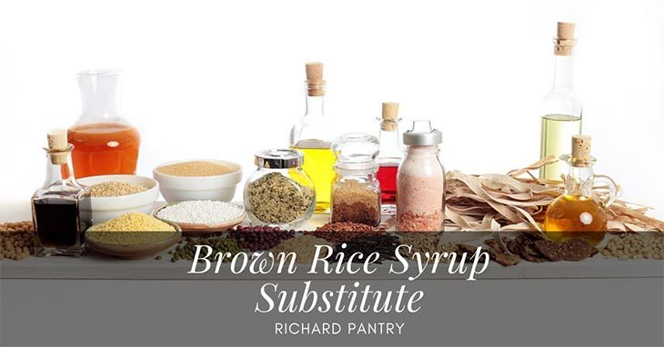 brown rice syrup substitute