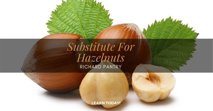 substitute for hazelnuts