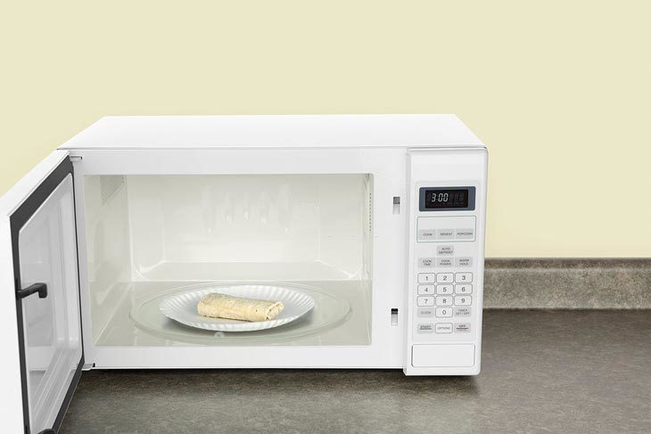 How To Reheat A Burrito In The Microwave
