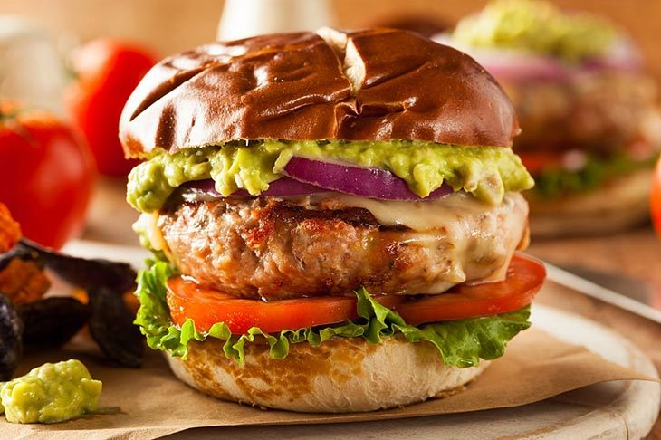 how to tell if a turkey burger is done