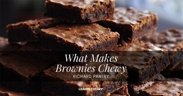 what makes brownies chewy
