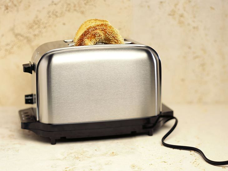 Soften Hard Bagels By Toasters