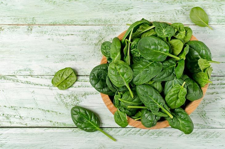 how to measure spinach