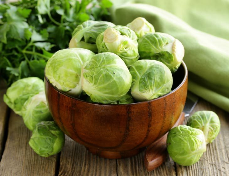 Cooked Brussel