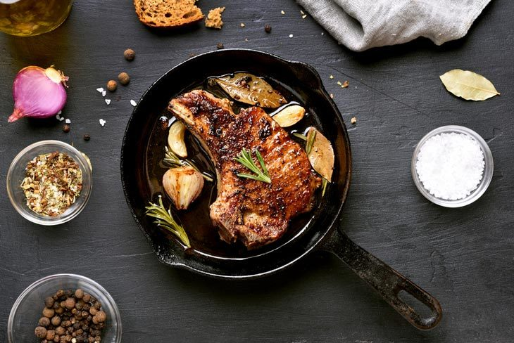 Using A Cast Iron Skillet
