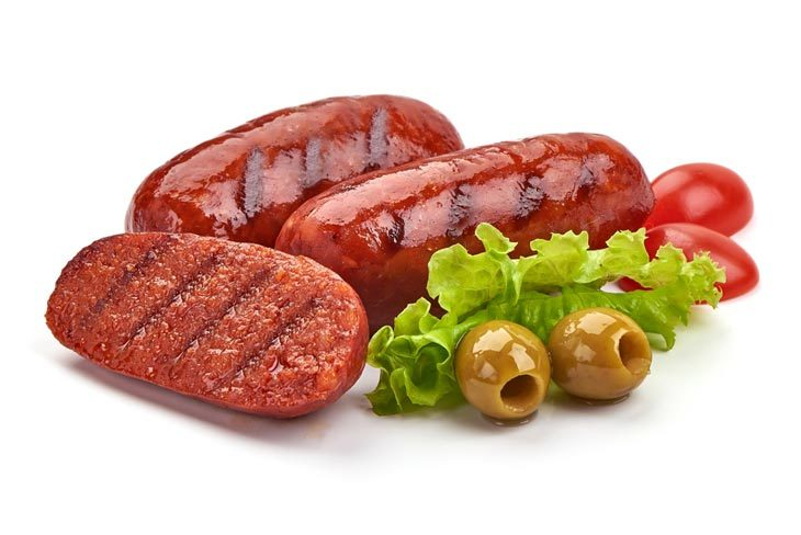 What does cooked chorizo look like